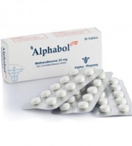 Alphabol XR Methandienone 25mg